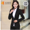 厂家订做 女士长袖职业套装 办公室员工修身款职业装 工装定做