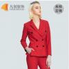 厂家订做新款女士长袖职业西装 休闲时尚韩版套装 商务职业装
