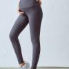 厂家直销新款专业高腰孕妇瑜伽裤后V腰美腿显瘦跑步健身运动长裤
