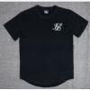 2020丝siksilk T恤黑色白色红色斑长T恤衫风格嘻哈上衣男子T恤