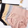 新款日系无缝高腰内裤女3D蜂巢暖宫按摩女士三角裤纯棉裆裤头女