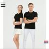 夏季高端短袖T恤衫男女通款T恤poloBB平台企业衫文化衫团体定制