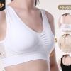 sport 瑜伽运动内衣镂空网格透气孔大码无钢圈运动文胸背心女欧美
