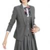 时尚幼师职业套装女秋季新款教师园服女幼儿园老师BB平台面试西装