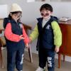 2020冬季新品儿童羽绒服套装加厚韩版印花童羽绒服套装三件套童装