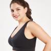 超薄大码文胸 胖MM220斤大码无缝运动文胸 全罩杯调整型文胸