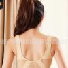 sports bra镂空网格透气孔大码运动文胸女士瑜伽跑步运动内衣女