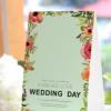 2018新款结婚席位卡 欧式婚礼嘉宾桌卡 个性创意婚宴座位卡批发