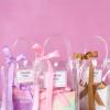 2020结婚喜糖袋PVC透明手提袋子伴娘伴手礼糖果袋创意 喜糖盒批发