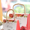 婚庆用品欧式手提盒喜糖盒子纸盒创意结婚高档糖果袋批发 可装烟