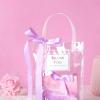 婚礼喜糖袋手拎提PVC透明袋结婚回礼品袋网红手提袋子 喜糖盒创意