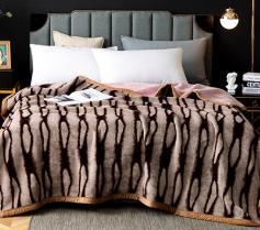 各类毛毯展示