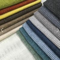 沙发布料 防滑坐垫抱枕 雪尼尔仿麻 厂家直销 热卖素色装饰布桌布