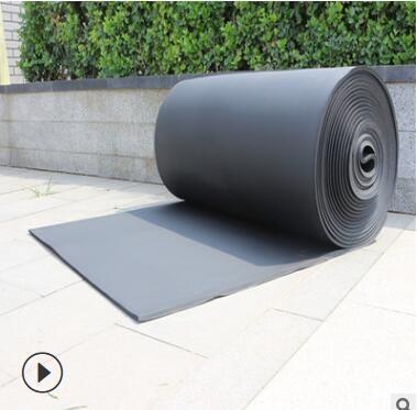 B1级阻燃橡塑保温板现货批发 B2级橡塑保温板 自粘型铝箔橡塑板