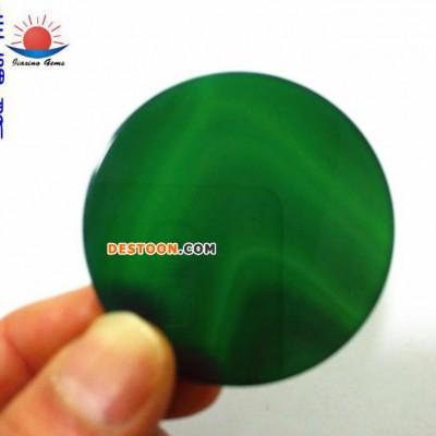 自家工厂 各色玛瑙工艺品圆片 54*4 可做吊坠 镶嵌家俱 玛瑙圆片