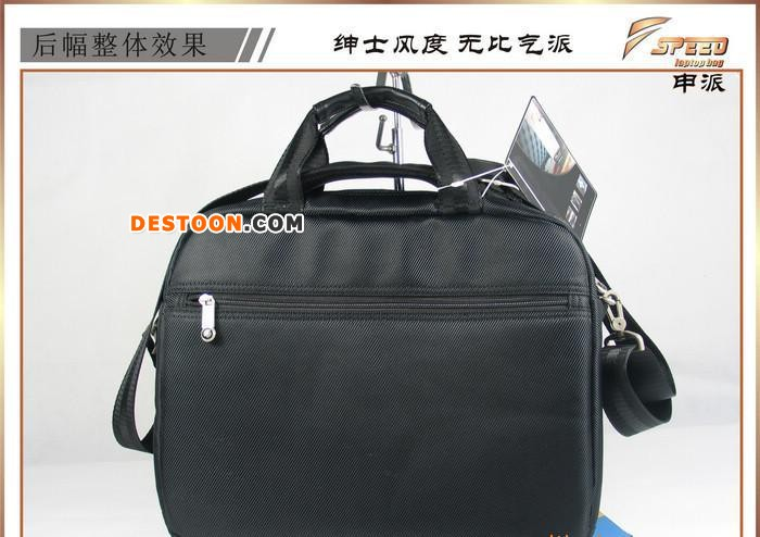 ,笔记本电脑包 黑色休闲手提单肩电脑包