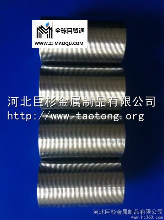 供应巨杉HRB400直螺纹钢筋连接套筒,直螺纹滚丝机