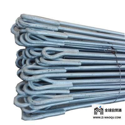 热镀锌拉线棒  圆钢双耳拉线棒   山东铁附件厂家