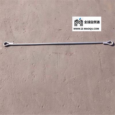 四川甘孜光缆金具  热镀锌拉线棒  双头圆钢拉线棒
