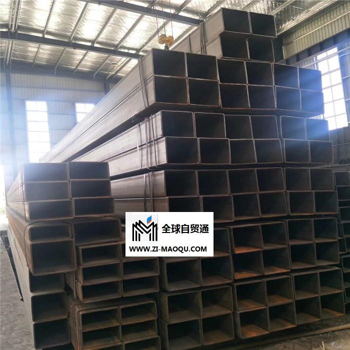大口径镀锌方管 矩形方价格 塔机Q345B方管 机床设备用方管