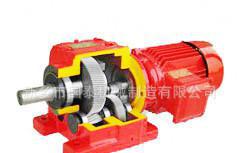 污水净化设备污水坑RF型斜齿轮硬齿面减速机