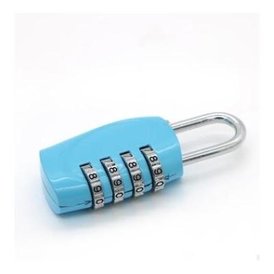 生产销售 时尚箱包塑料密码锁 新款长形箱包锁