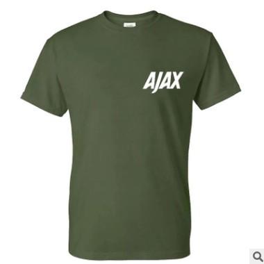 夏季棉质休闲个性印花T恤,跨境热卖厂家直销多色可选