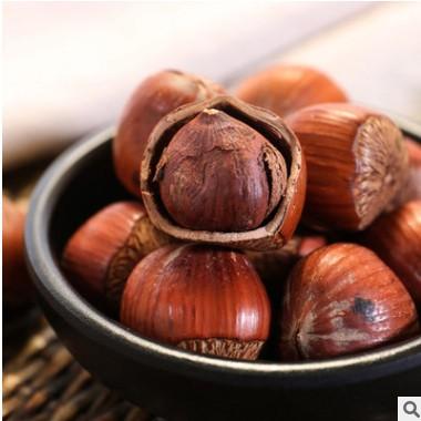 新货原味开口榛子坚果特产零食品200克清香饱满 厂家直销特价批发