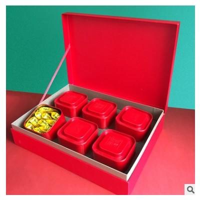 大红袍礼盒装茶叶高档礼盒春节送礼正小种金骏眉铁观音通用包装