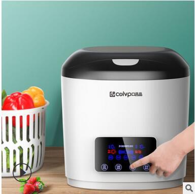 口吕品果蔬消毒机解毒机电解洗菜家用解毒活氧臭氧食材净化器