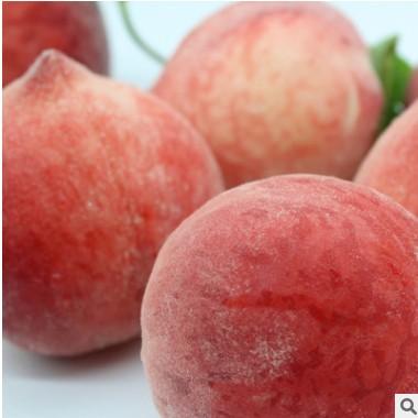 【陕西春雪水蜜桃】新鲜水果脆甜多汁 毛桃子红桃子现货一件代发