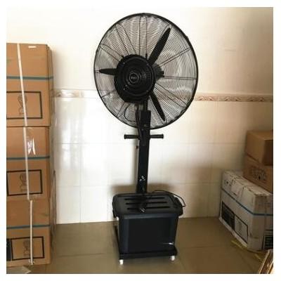 工业喷雾风扇养殖场降温水冷雾化落地扇工厂车间大功率牛角电风扇