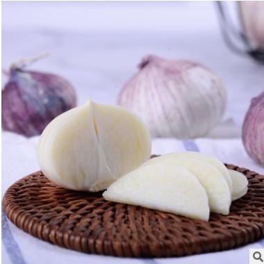 云南农家新鲜蔬菜紫皮大蒜独头蒜干大蒜白皮大独蒜土蒜现货直发