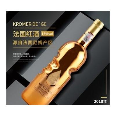 法国进口红酒 酒水厂家OEM定制批发团购代发包邮礼盒装干红葡萄酒