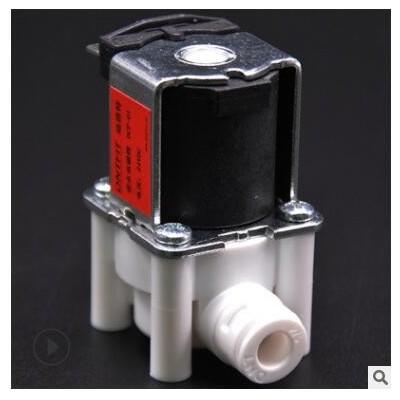迪恩特进水电磁阀 24V家用净水器废水阀直饮纯水机过滤器通用配件