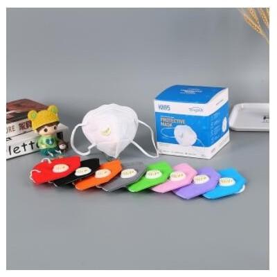 厂家批发一次性防尘防口罩kn95口罩带呼吸阀防护口罩定制
