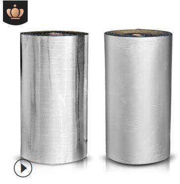 铝箔隔热棉自粘屋顶橡塑保温棉楼顶耐高温防火防晒隔热板保温材料