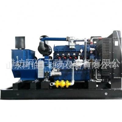 供应养殖场垃圾处理厂200KW沼气发电机组 品质放心操作简单工厂